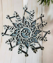 Load image into Gallery viewer, 2020 F*$k Snowflake Ornament