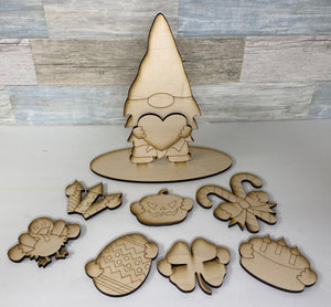 DIY Paint Kit-Standing Gnome