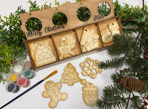 DIY Holiday Ornament Paint Kit