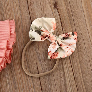 Baby Girl Floral 3 Piece Set