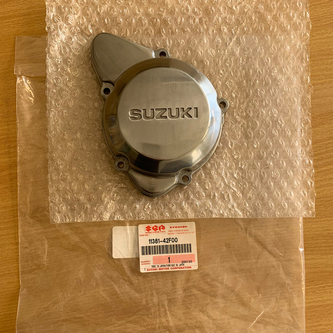 GENUINE SUZUKI RH ENGINE LID COVER GSX1400 02-07 11381-42F00