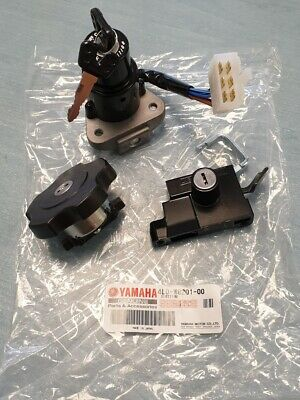 GENUINE YAMAHA RD350LC LOCK SET IGNITION SEAT FUEL CAP 4L0-W8201-00 4L0W820100