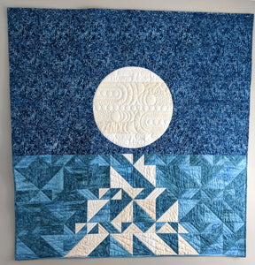 Moonrise Paper Pattern