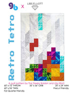 Load image into Gallery viewer, Retro Tetro PDF Pattern