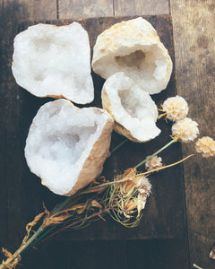 Quartz Geode Crystals