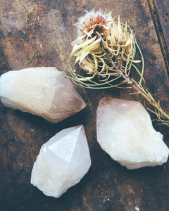 Candle Quartz Point Large