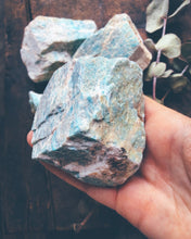 Load image into Gallery viewer, Raw Amazonite Chunks