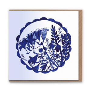 Bouquet Blank Greetings Card