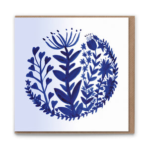 Grow Blank Greetings Card