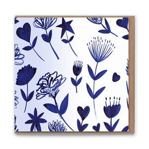 Sketchbook Wild Blank Greetings Card