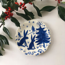 Load image into Gallery viewer, Festive Forest Plate 15cm