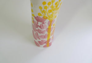 Floral Celebration Vase for the Artists Support Pledge