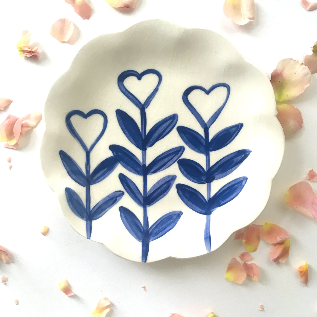Love Grows Plate 15cm
