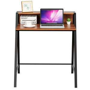 2 Tier Computer Desk PC Laptop Workstation