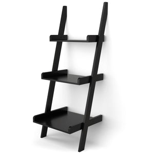 3 Tier Leaning Wall Book Shelf Ladder