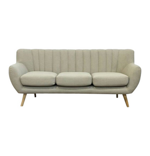 Lilly 3-Seater Sofa - Beige