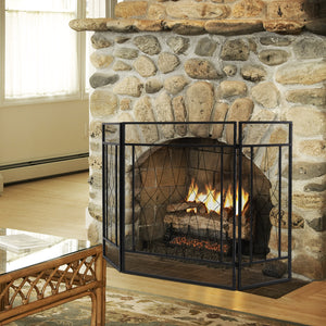 3 Panel Fireplace Screen Fire Place Doors