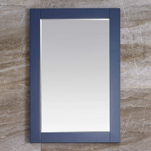 24 inch Bathroom Vanity Mirror Bathroom Wall Mirror for Bathroom, Blue