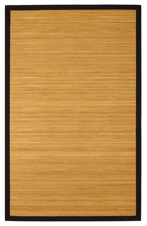 6' x 9' Contemporary Natural Bamboo Rug