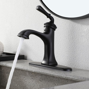 Black Matte Bathroom Faucet