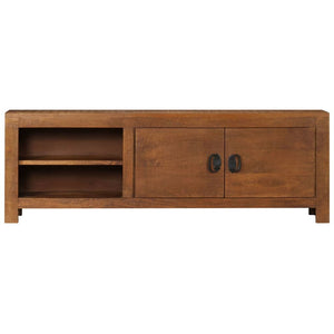 "TV Cabinet 47.2""x15.7""x11.8"" Solid Mango Wood"