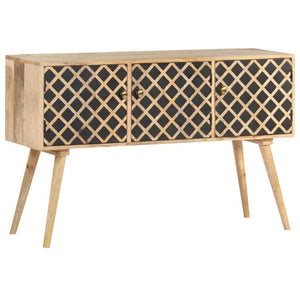 "Sideboard 46.5""x13.8""x29.5"" Solid Mango Wood"