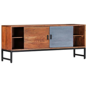 "TV Cabinet 47.2""x11.8""x19.2"" Solid Acacia Wood"