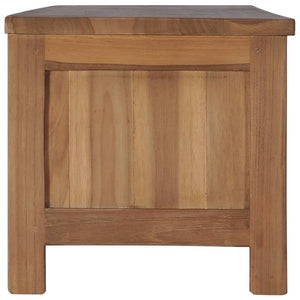 "TV Cabinet 59.1""x11.8""x11.8"" Solid Teak Wood"