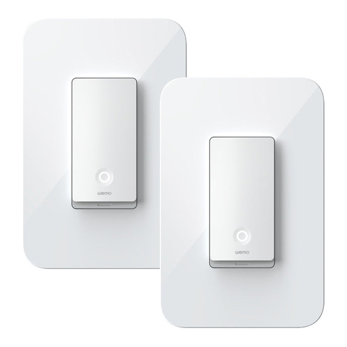 Linksys WLS0403-BDL Wemo Smart 3-Way Light Switches, 2 Pack