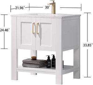 Bathroom Vanity and Sink Combo