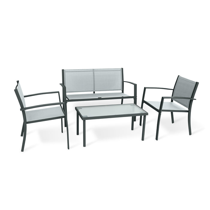 Upland Patio Furniture Set Outdoors