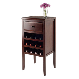 Orleans Modular Buffet with Drawer, 12-Bottle Wine Rack