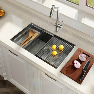 30-inch Undermount 16 Gauge Kitchen Sink