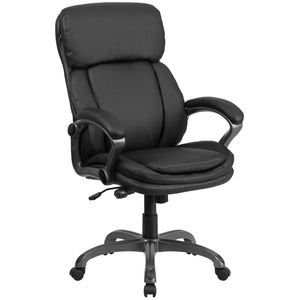 High Back LeatherSoft Executive Swivel Ergonomic Office Chair