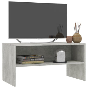 "TV Cabinet Concrete Gray 31.5""x15.7""x15.7"" Chipboard"