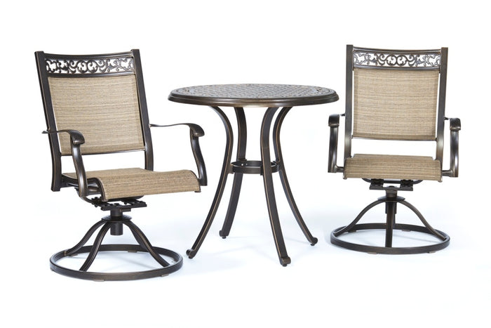 Dining Table Swivel Rocker Chairs Outdoor Patio Furniture