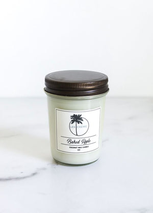 Baked Apple Scent Coconut Wax Candle