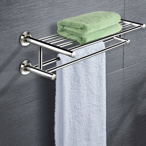 Wall Mounted Stainless Steel Towel Storage Rack