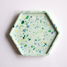 Load image into Gallery viewer, Hex Trinket Tray in Mint