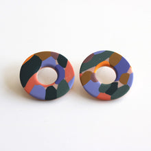Load image into Gallery viewer, Donut Studs in Camo