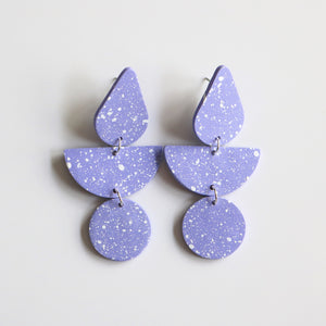 Pear Drop in Lilac Speck