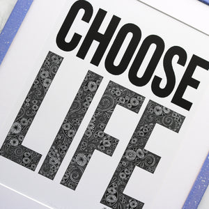 Choose Life Trainspotting Print
