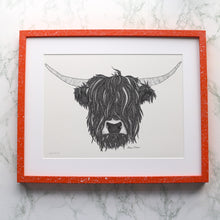 Load image into Gallery viewer, Highland Cow Print