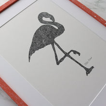 Load image into Gallery viewer, Flamingo Print