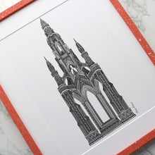 Load image into Gallery viewer, Scott Monument Print