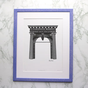 Stockbridge Market Print