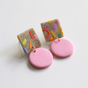 Sweetie Drop No.1 in 80's Slab & Rose