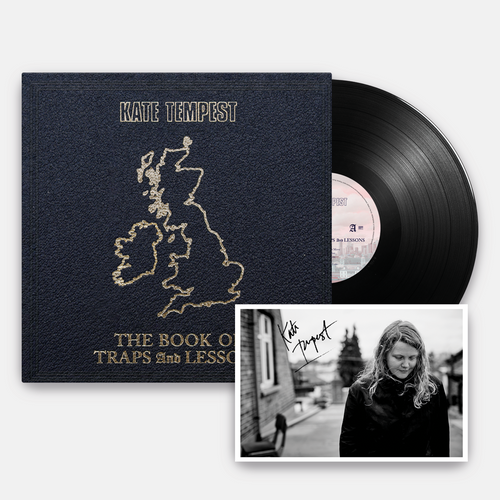 'The Book of Traps & Lessons' Vinyl + Signed Postcard