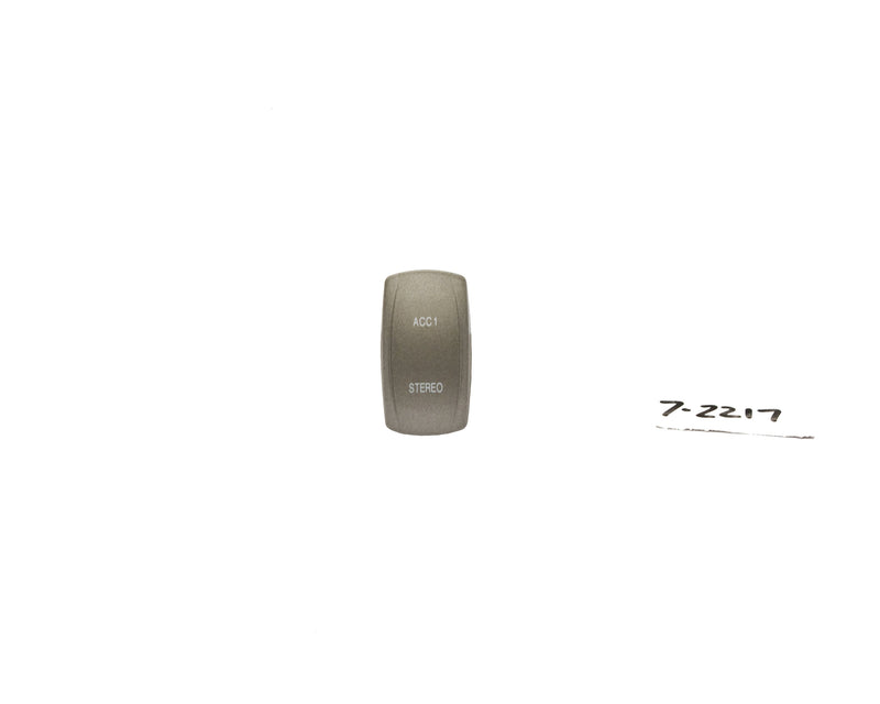 Rocker Switch Cap / Actuator Only - Accessory / Stereo - Tan