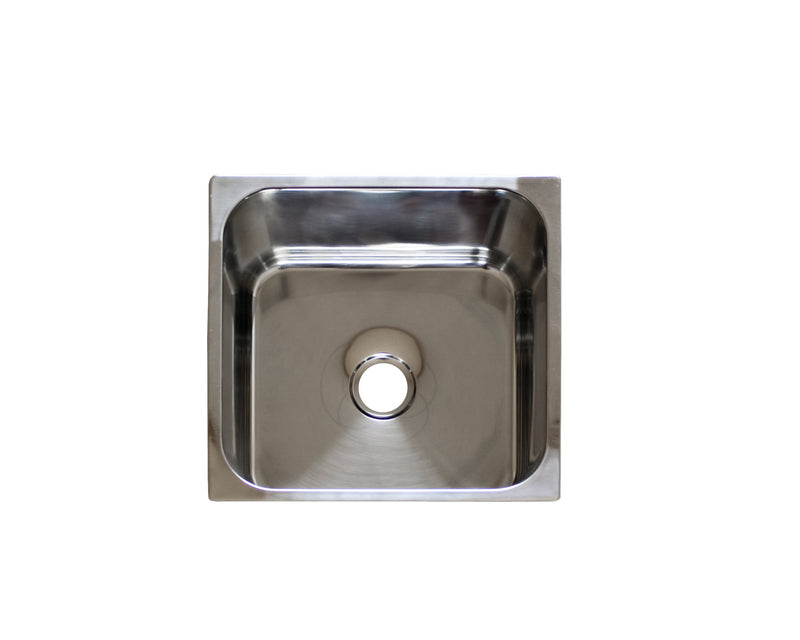 Square Sink, Stainless Steel